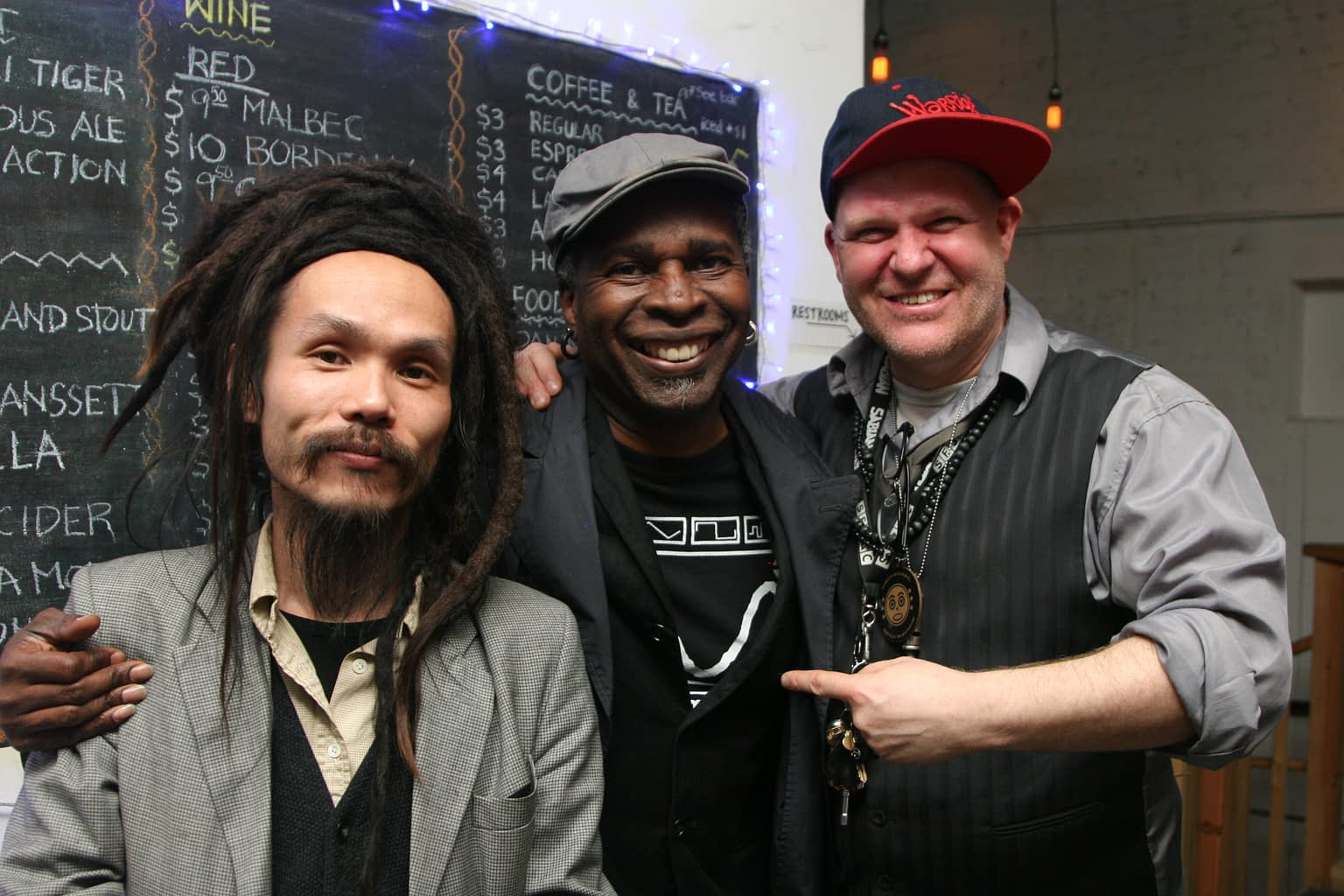 MusicMakers Kaz, Swiss Chris, Vernon Reid, Shapeshifter Lab