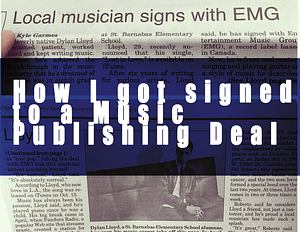 Music Publishing Deal
